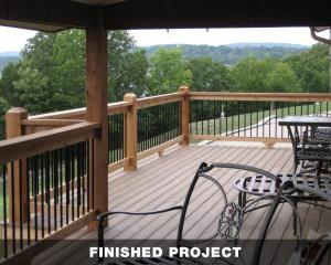 Composite Decking & Custom Handrails