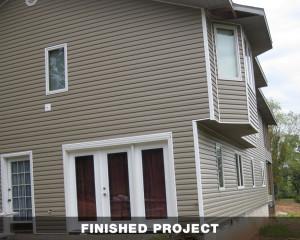 New Siding, Windows & Doors
